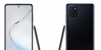 Samsung Galaxy Note10 Lite lækket af WinFuture.de og @rquandt (Kilde: Mspoweruser.com)