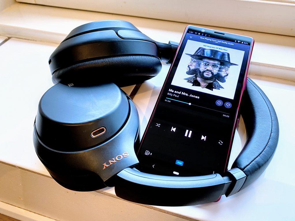 Sony 360 Reality Audio test