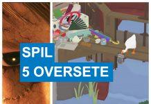5 oversete spil