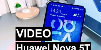 Huawei Nova 5T video