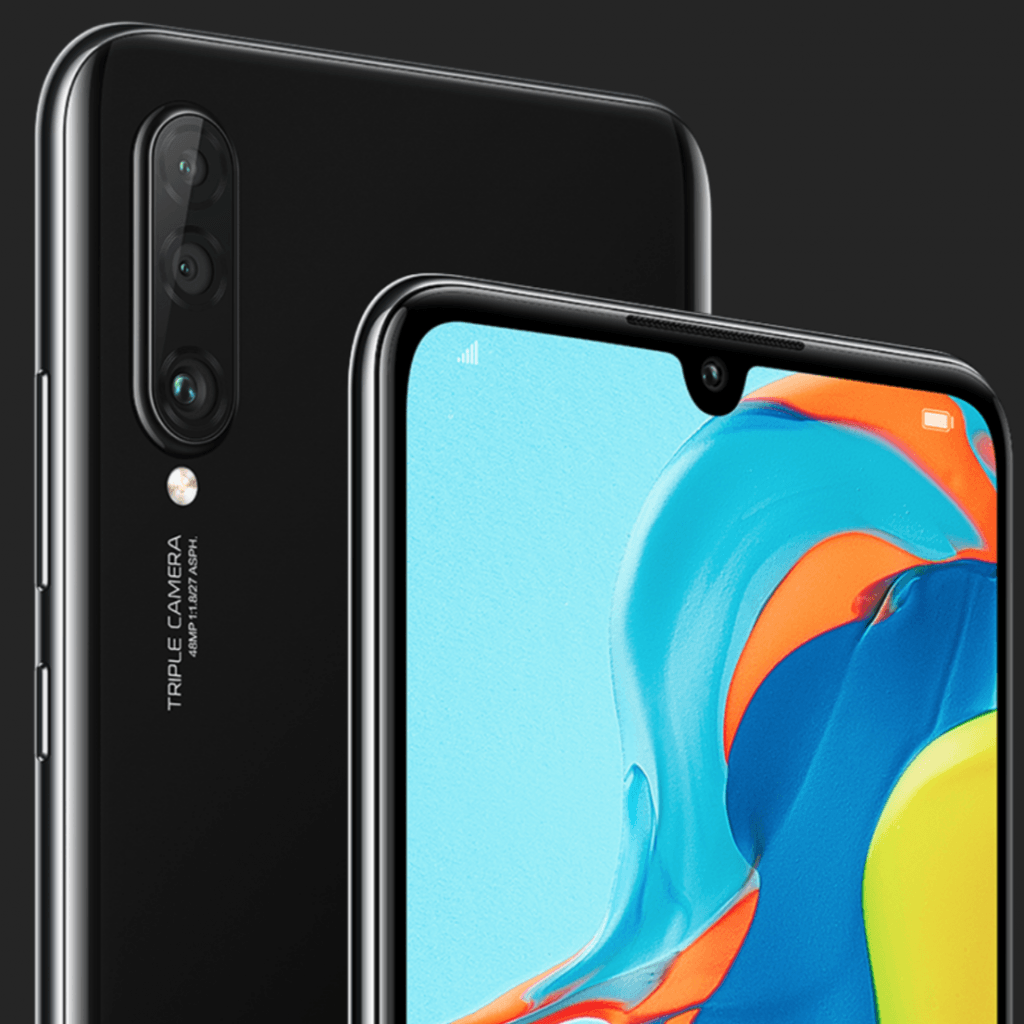 Huawei P30 Lite New Edition, Midnight Black