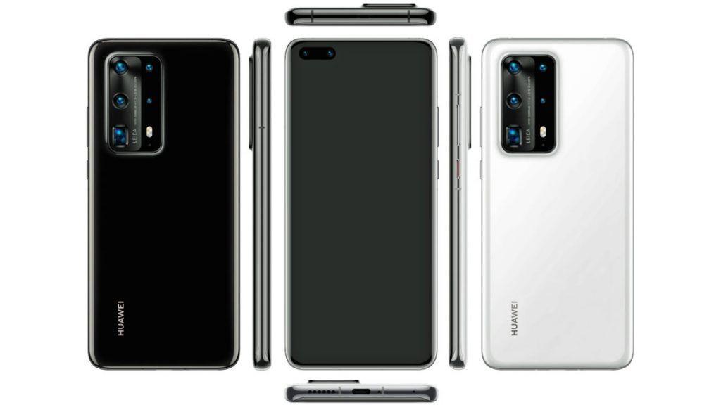 Huawei P40 Pro lækket af Twitterbrugeren Evan Blass (Kilde: EvLeaks / Twitter)