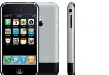 Første generation af iPhone, som udkom på udvalgte markeder tilbage i 2007, havde iPhone OS installeret