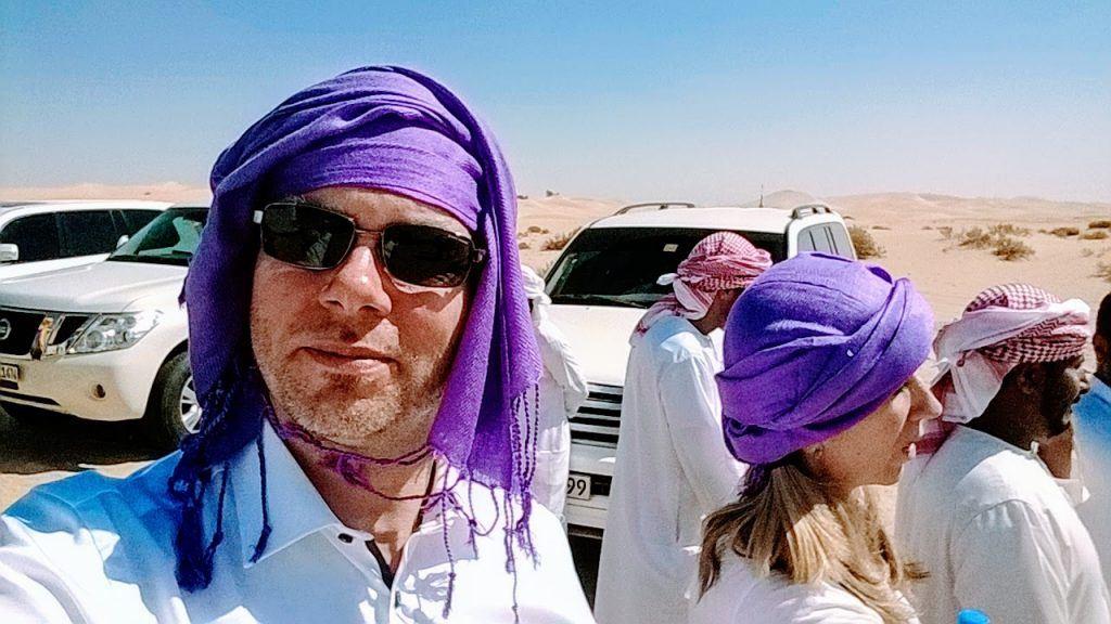 John G i Abu Dhabi