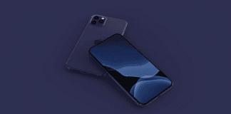 Bud på hvordan iPhone 12 Pro vil se ud i farven Navy Blue (Kilde. Concept af EverythingApplePro/Max Weinbach)