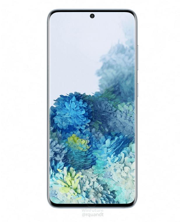 Samsung Galaxy S20 afsløret i nye spændende farver (Kilde: WinFuture)