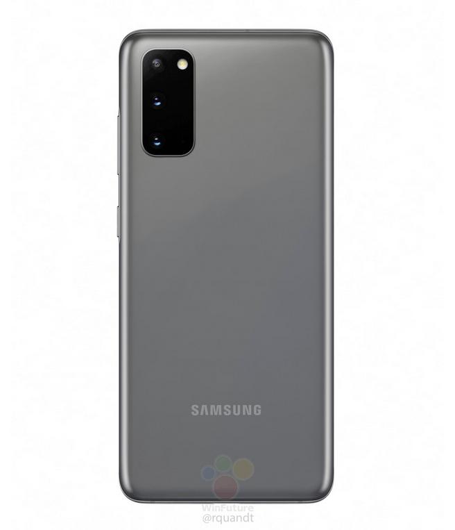 Samsung Galaxy S20 Plus afsløret i nye spændende farver (Kilde: WinFuture)