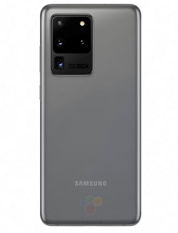 Samsung Galaxy S20 Ultra afsløret i nye spændende farver (Kilde: WinFuture)