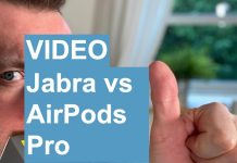 Test Jabra vs AirPods Pro