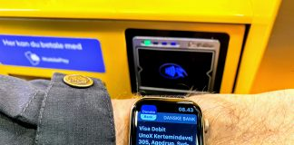 Apple Pay på Apple Watch