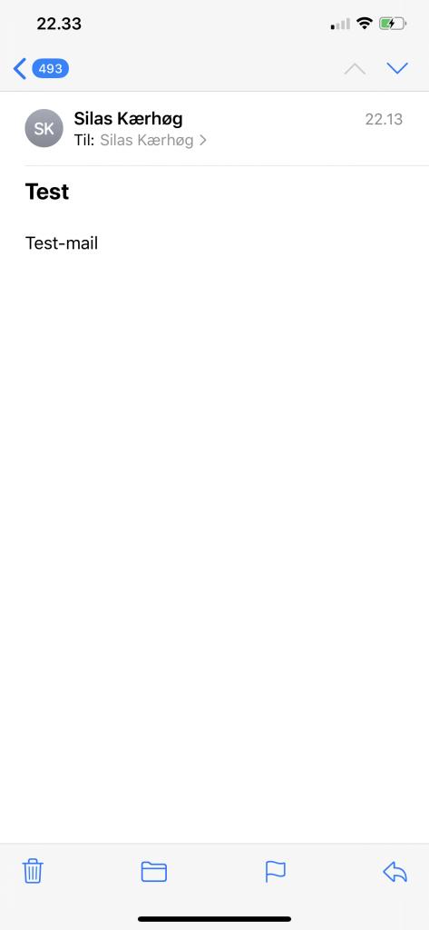 iOS 13.4 Beta Mail-applikationen (Foto: MereMobil.dk)
