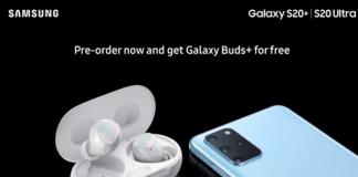 Galaxy Buds+ bundle Galaxy S20