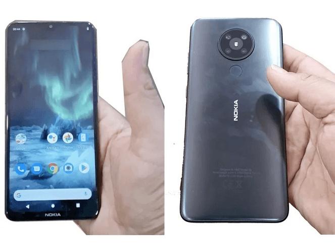 Nokia 5.2 lækket af EvLeaks (Kilde: Twitter)