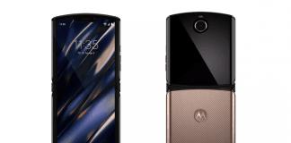 Motorola Razr afsløret i en ny guld farve af Evan Blass (Kilde: Twitter / EvLeaks)