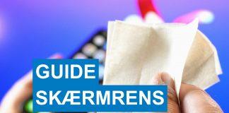 guide Rengøring af smartphone