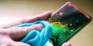 Rengøring af mobil