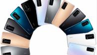 Årets Huawei familiefoto er afsløret og viser hele Huawei P40-serien og de forskellige farvevarianter. Se billedet her.