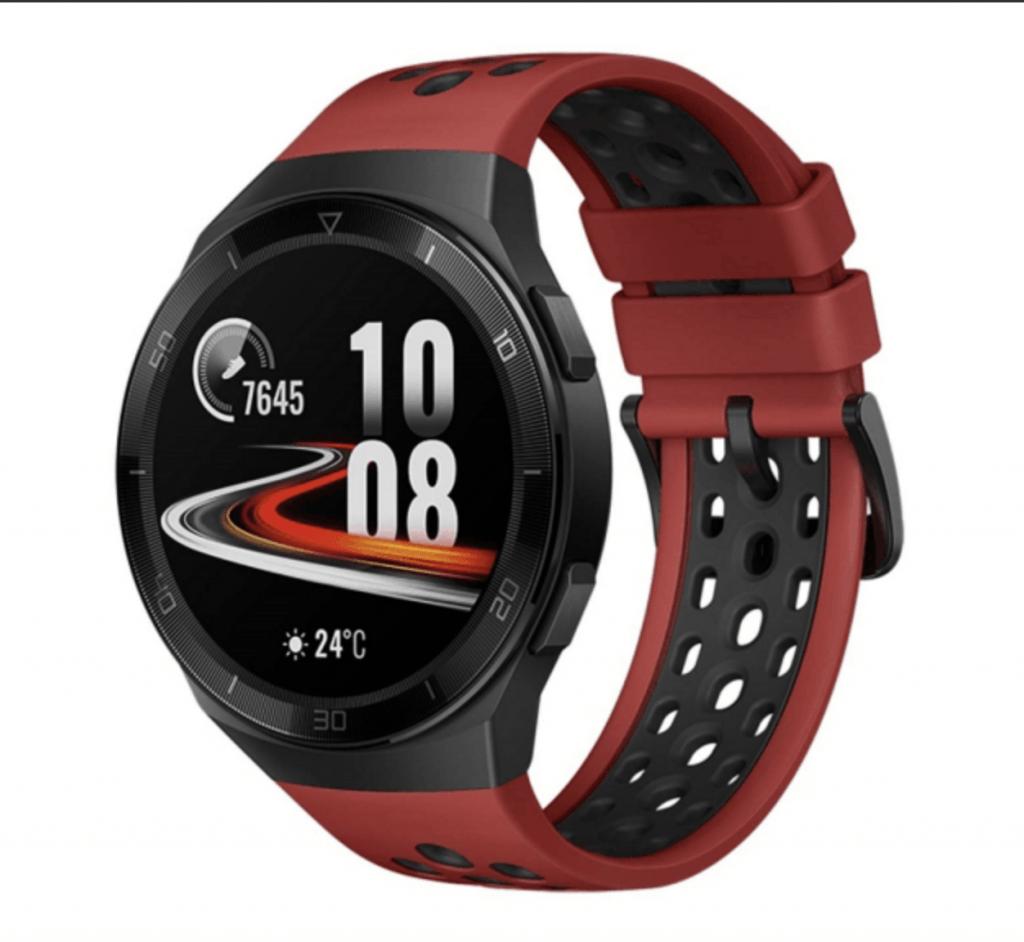 Huawei Watch GT 2e afsløret i Volcano Red (Foto: WinFuture)