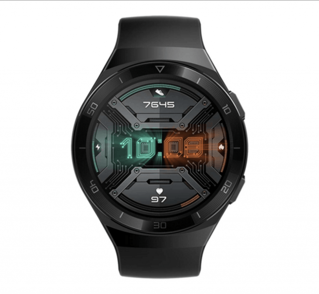 Huawei Watch GT 2e afsløret i Graphite Black  (Foto: WinFuture)