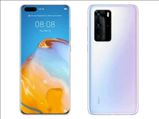 Huawei P40 og P40 Pro - se de lækkede specifikationer og priser (Kilde: WinFuture)