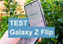Test Samsung Galaxy Z Flip