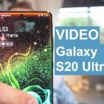 Video Galaxy S20 Ultra