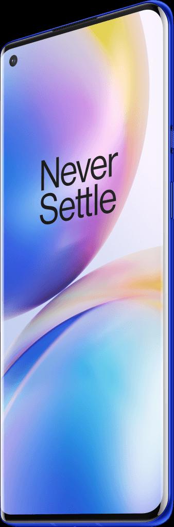OnePlus 8 Pro i farven ultramarine-blue