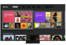 Apple Music på Samsung smart TV