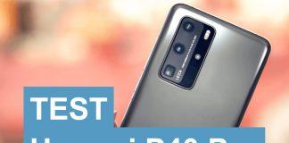 Test Huawei P40 Pro