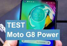 Test Moto G8 Power