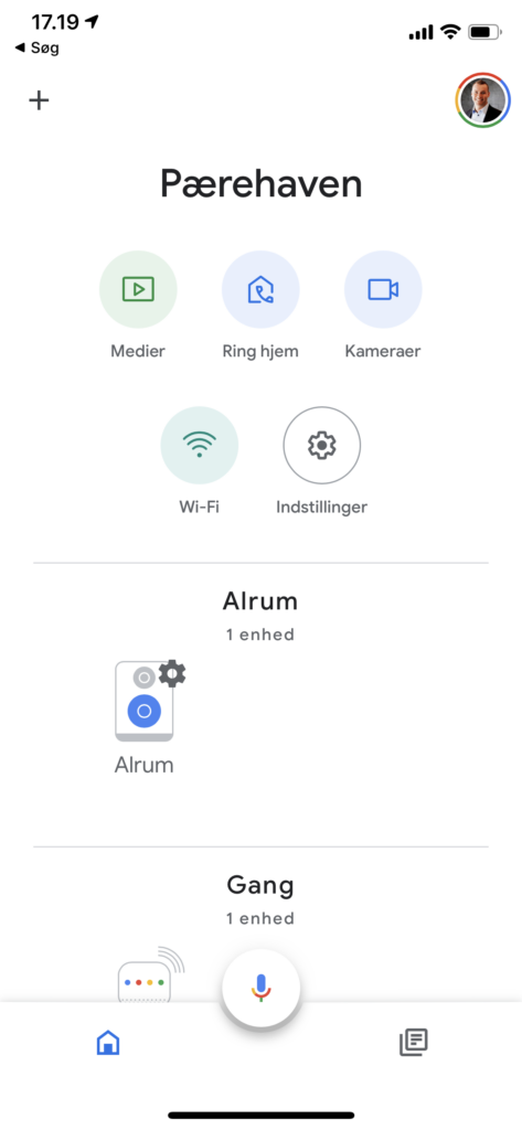 Nest Wifi i Google Home