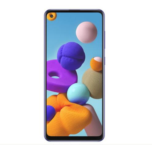 Samsung Galaxy A21s er en ny spændende smartphone fra Samsung til en overkommelig pris (Foto: Samsung)