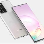 Lækket renders af Samsung Galaxy Note 20 fra OnLeaks (Kilde: OnLeaks og Pigtou)