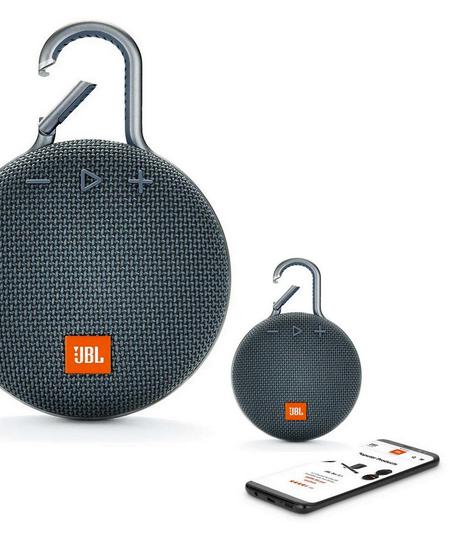 JBL Clip 3 Bluetooth Højttaler – Vandtæt (Kilde: Mobilcovers.dk)