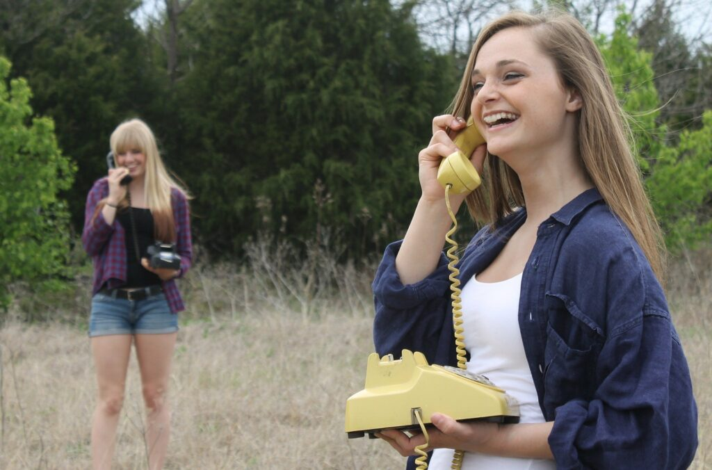 Samtale telefoni