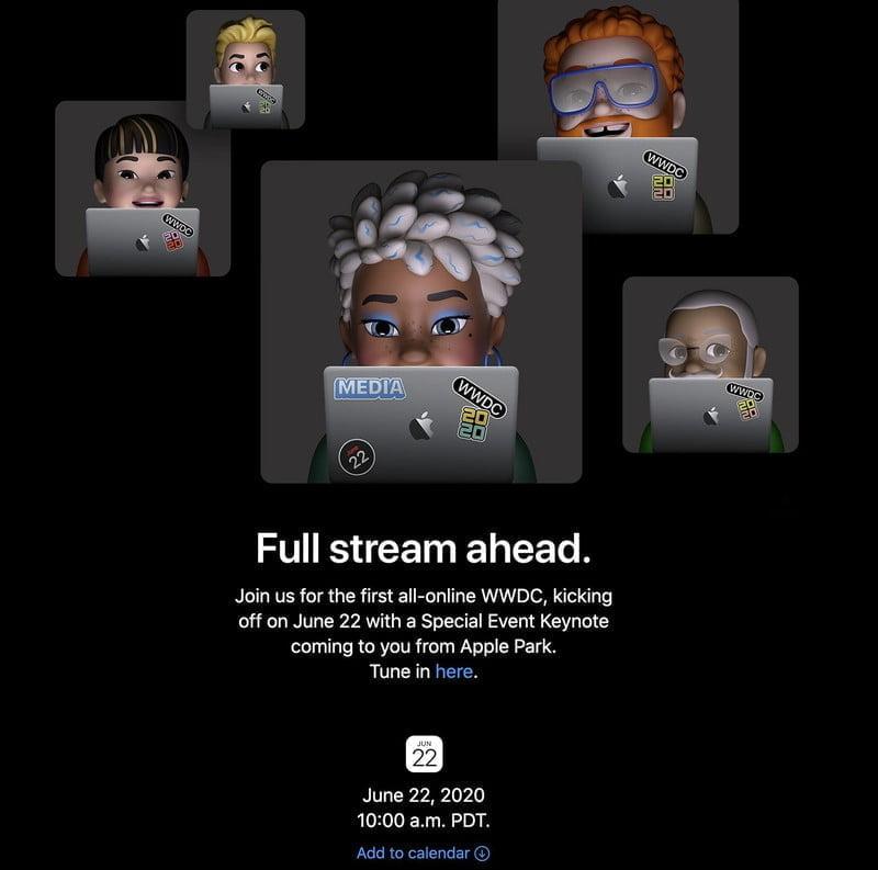 Apple afholder WWDC 2020 som et online-only event (Foto: Apple)