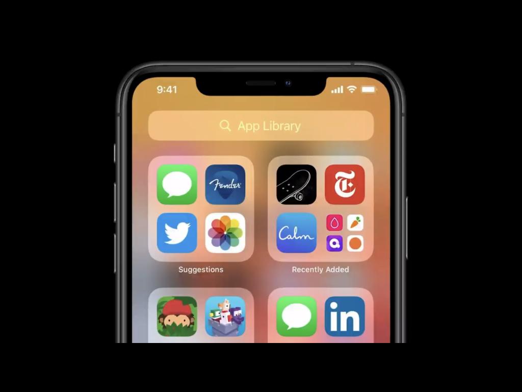 App Libary, iOS 14