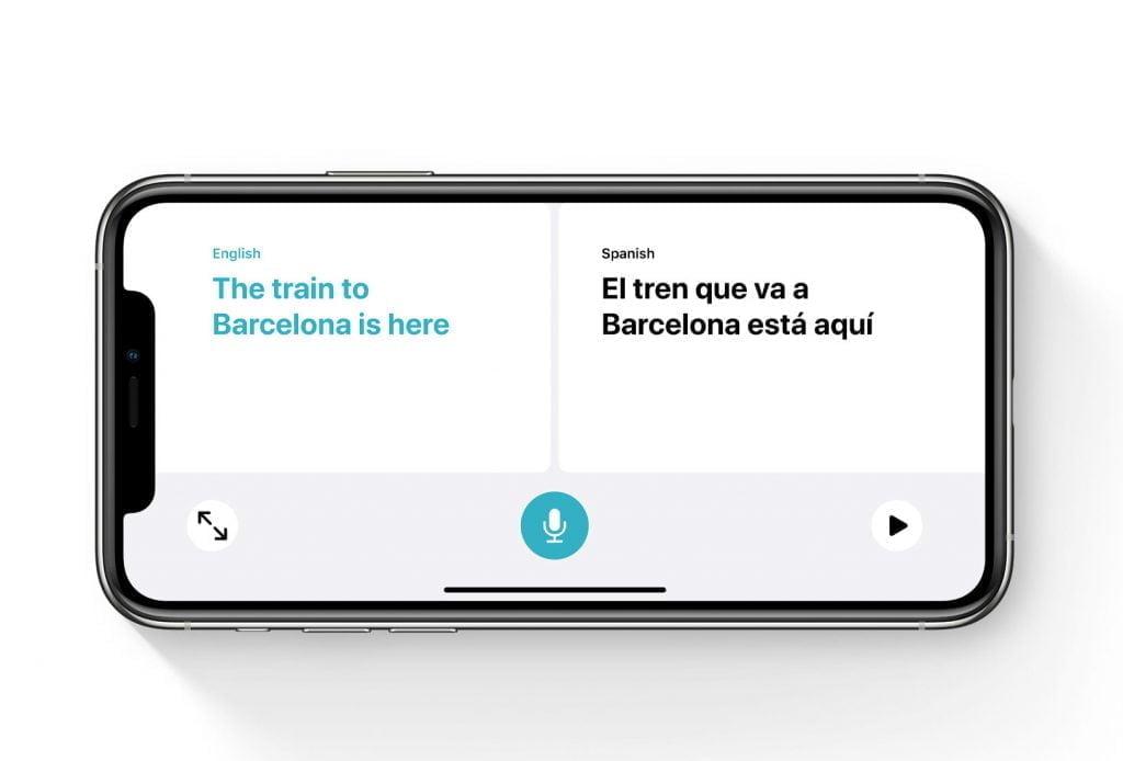 Apple Translate, iOS 14