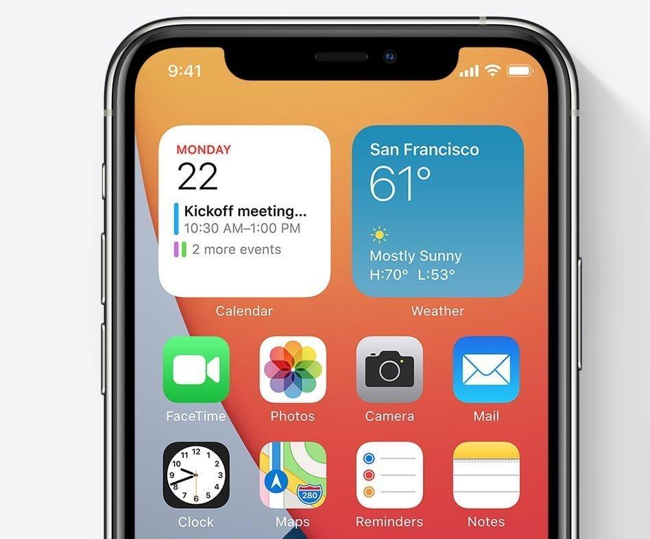 Widgets i iOS 14