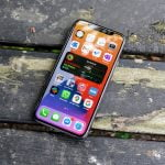 iPhone 11 Pro med iOS 14 beta