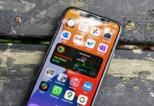 iPhone 11 Pro med iOS 14 beta