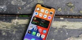 Siri på iPhone 11 Pro med iOS 14 beta