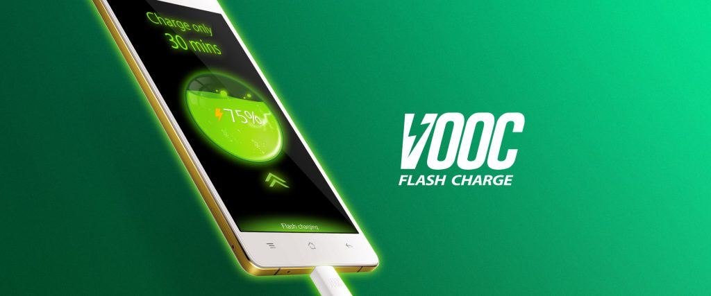 Oppo VOOC-opladning
