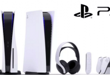 Sony PlayStation 5-konsol, dualSense kontrollere og Pulse 3D wireless headset (Foto: Sony)