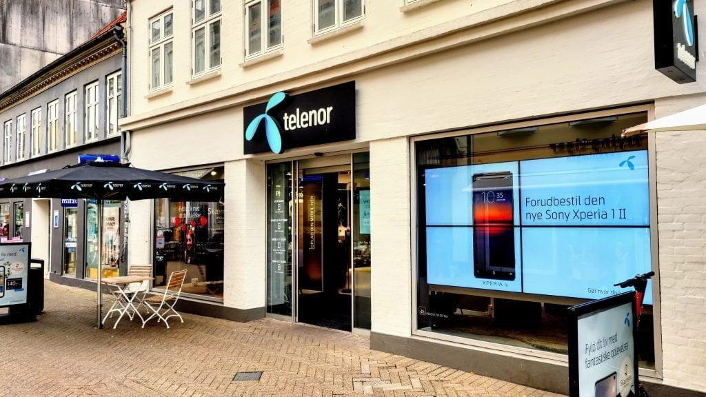 Telenor butik, Odense