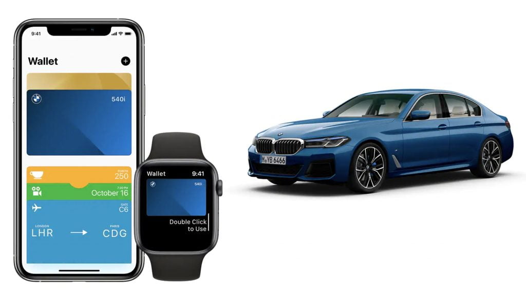 Apple Car Key BMW