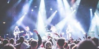 Musik koncert publikum