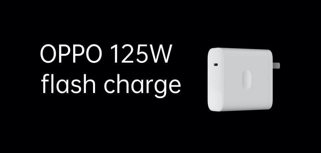 Den kommende Oppo VOOC 125W-oplader, vil være den hurtigste oplader til nogen telefon nogensinde. (Foto: Oppo)