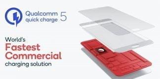 Qualcomm Quick Charge 5 er verdens hurtigste kommercielle opladningsteknologi. (Foto: Qualcomm)