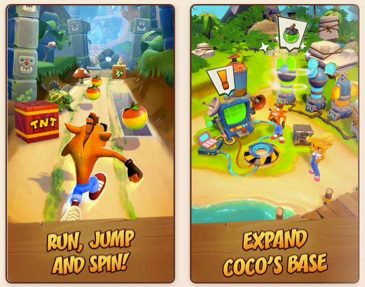Crash Bandicoot: On The Run! (Foto: King)